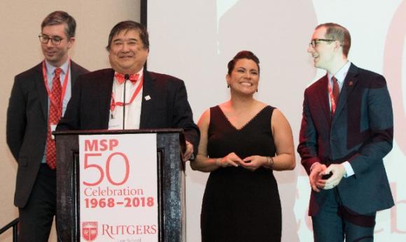 MSP 50: Rob Chen with alumni