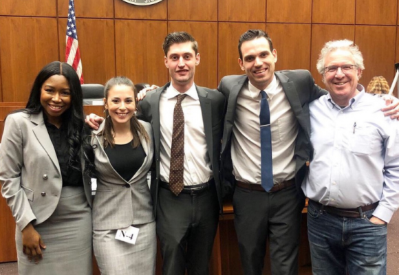 National Mock Trial team from Rutgers Law