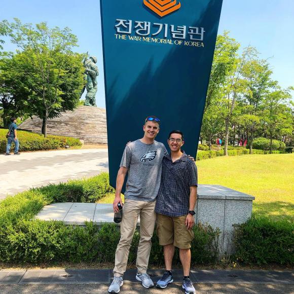 Schoenberg, Erik Korean War Memorial.JPG