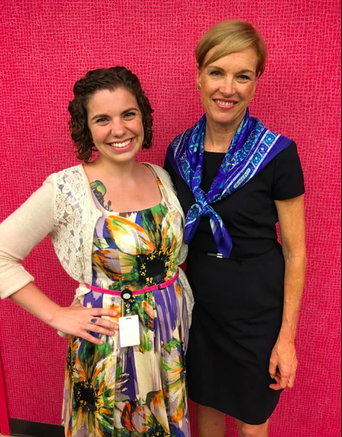 Kate Doyle with Cecile Richards