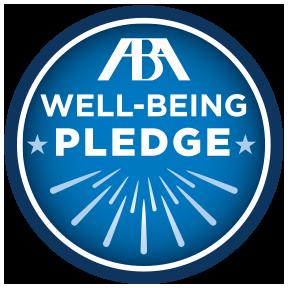 ABA Well-Being Pledge logo