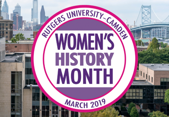 RU–C Women's History Month logo