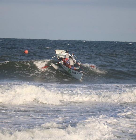 Anna Esposito at the shore