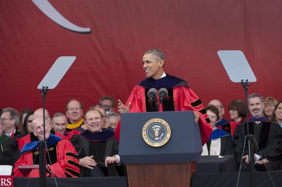 President Obama Rutgers commencement address