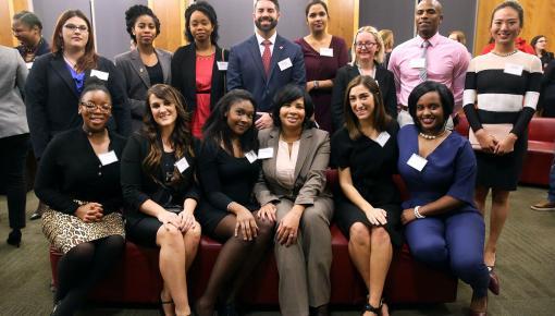 Minority Student Program participants in Camden