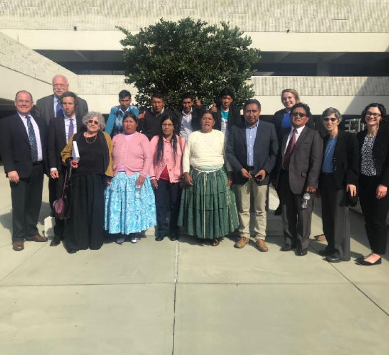 Legal team and plaintiffs