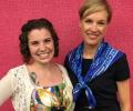 Kate Doyle with Cecile Richards newsroom